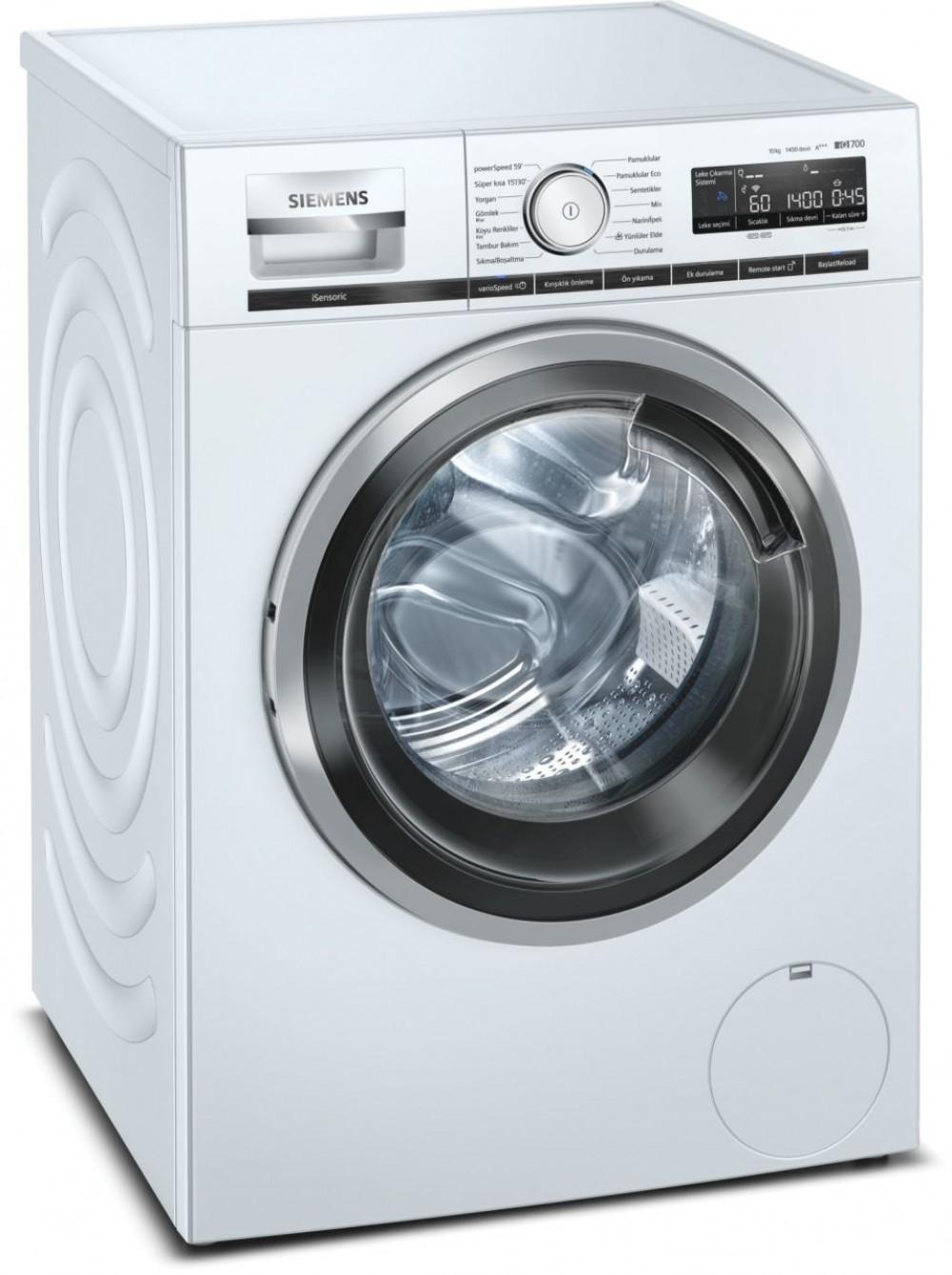 Siemens WM14XM80TR A+++ 10 Kg 1400 Devir Çamaşır Makinesi