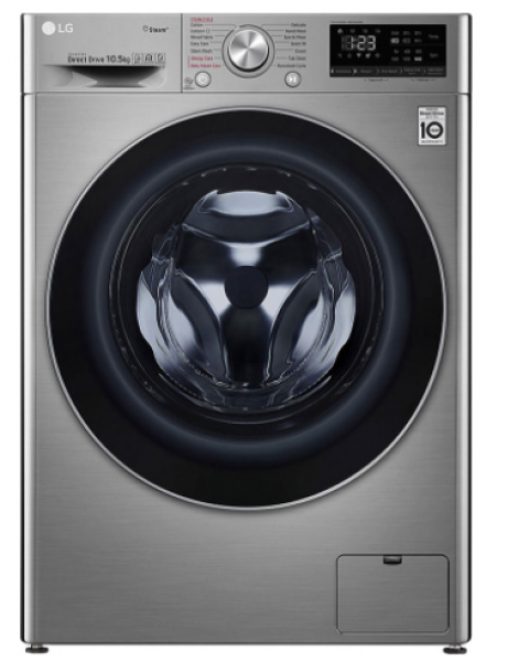 LG F4V5RYP2T Wi-Fi A+++ 1400 Devir 10.5 kg Çamaşır Makinesi