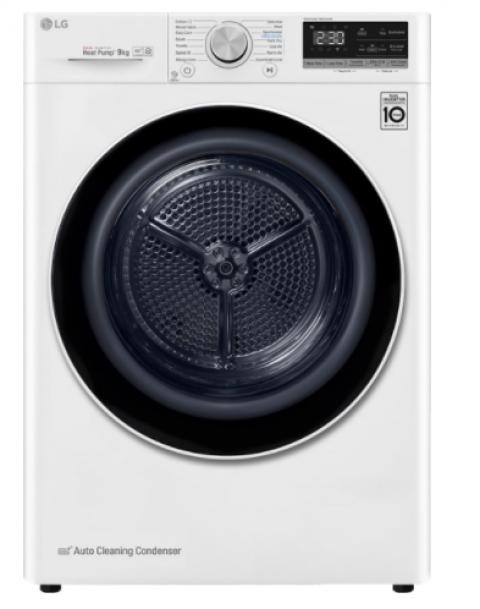 LG RC90V9AV2W A+++ 9 kg Çamaşır Kurutma Makinesi