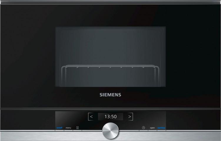 Siemens BE634LGS1 21 lt Siyah Mikro Dalga Fırın
