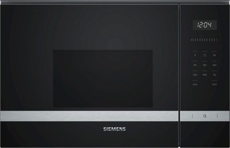 Siemens BF525LMS0 20 lt Siyah Mikro Dalga Fırın