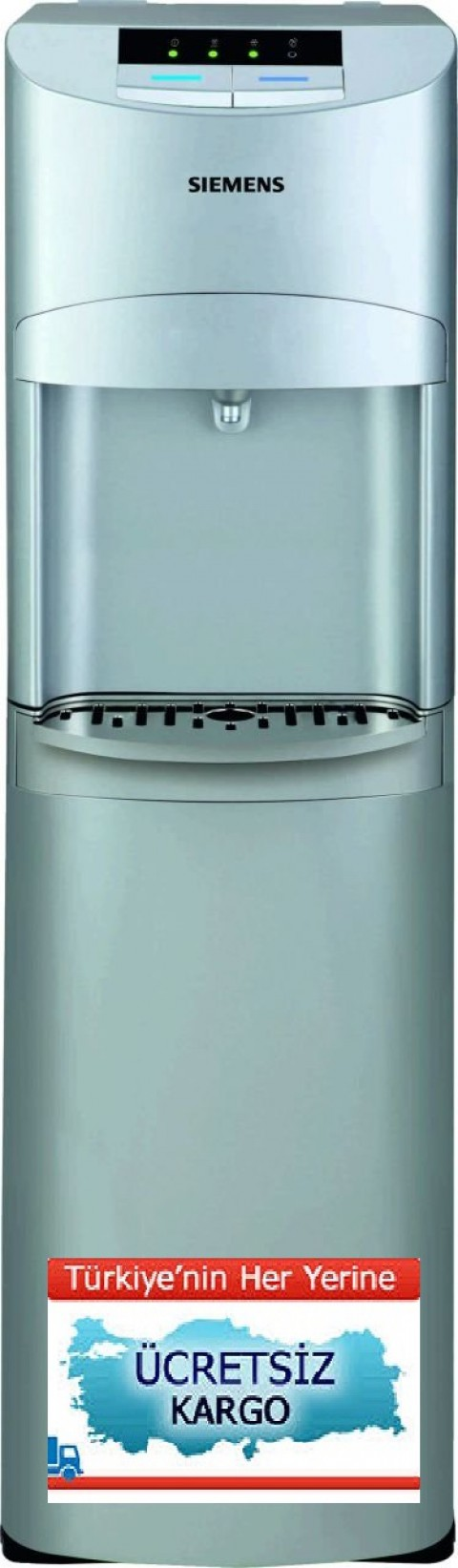 Siemens DW15701 Gizli Damacanalı Su Sebili