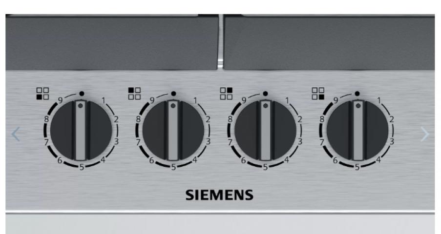 Siemens EC6A5PB90L LPG'li Inox Ankastre Ocak
