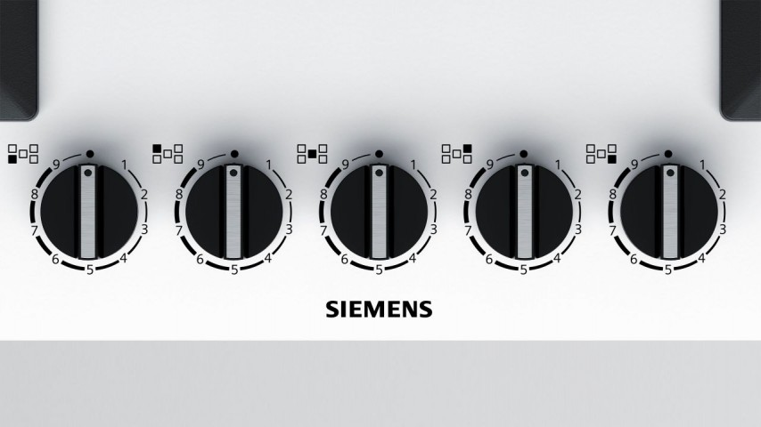 Siemens EP7A2QB20 75 cm Wok Gözlü Beyaz Cam Ankastre Ocak