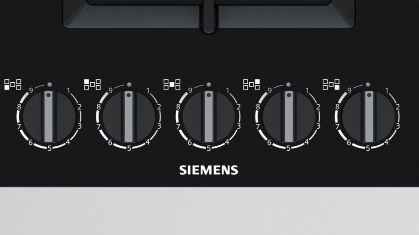 Siemens EP9A6QB90 90 cm Wok Gözlü Siyah Cam Ankastre Ocak
