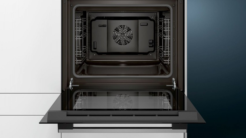 Siemens HB013FBS1T Siyah/Çelik Ankastre Fırın