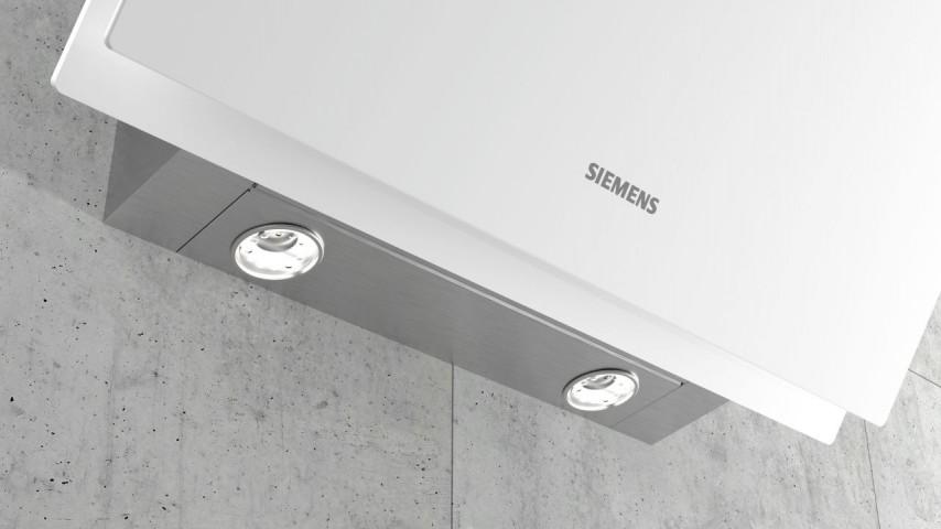 Siemens LC68KAK20T 60 cm Beyaz Cam Davlumbaz