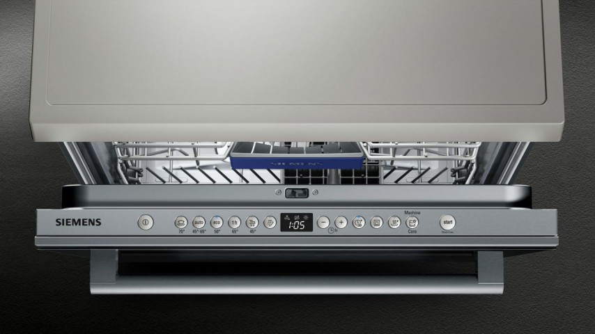 Siemens SN236B00MT 6 Programlı Siyah Cam Bulaşık Makinesi